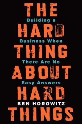 The hard thing about hard things Books recommended by DOvelopers