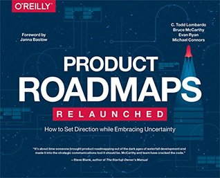 Product Roadmaps Books recommended by DOvelopers